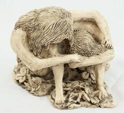 Clay, Oxides, 10x30cm, 2015