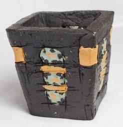 Clay, Black, Pigment, 2018